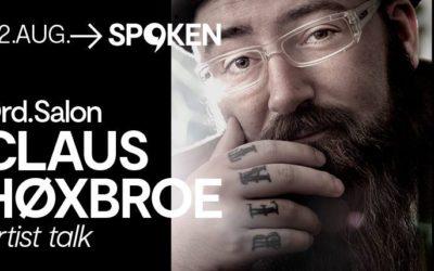 Artist talk med Claus Høxbroe