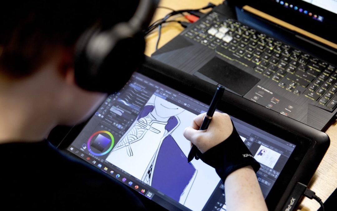 Game Design & Animation-Camp åbner for tilmeldinger